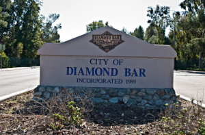Diamond Bar, CA - Welcome Sign