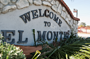 El Monte Welcome Sign