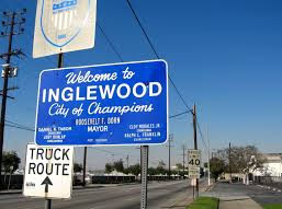 Inglewood Welcome Sign